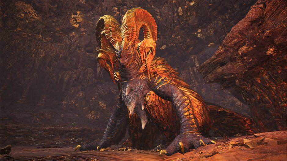 El dragón anciano Kulve Taroth llega hoy en la segunda gran actualización de Monster Hunter World