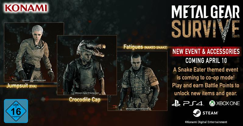 Metal Gear Survive tendrá un evento de Metal Gear Solid 3 1