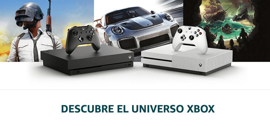Amazon España estrena un portal de ofertas dedicado a la marca Xbox