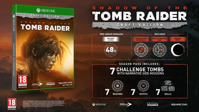 Shadow of the Tomb Raider - Edición Croft