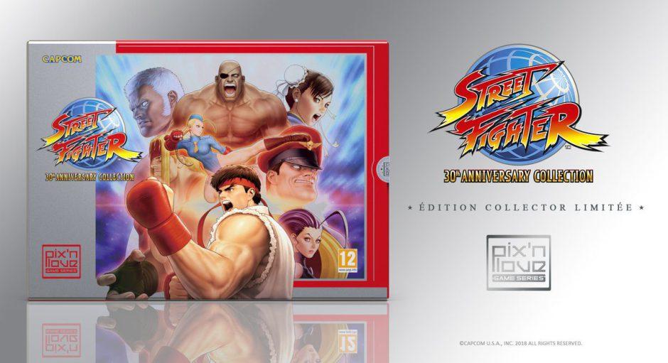 Street Fighter 30th Anniversary Collection tendrá una Edición Coleccionista en Europa