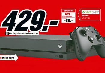 ¡Una oferta salvaje apareció! Xbox One X por 429€ en Media Markt