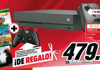 Da el salto a Xbox One X con este impresionante pack exclusivo de Media Markt
