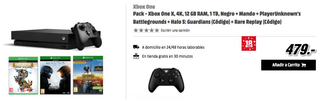 Comprar Pack Xbox One X Media Markt