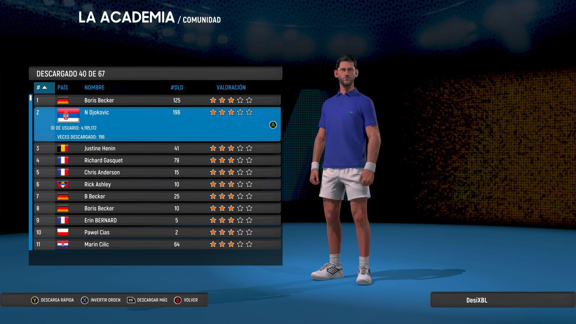 AO International Tennis