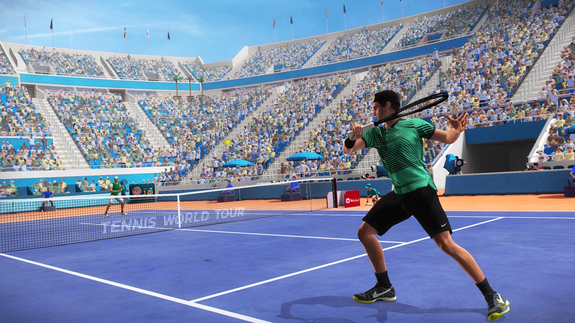 Primeras impresiones jugables de Tennis World Tour desde la Mutua Madrid Open