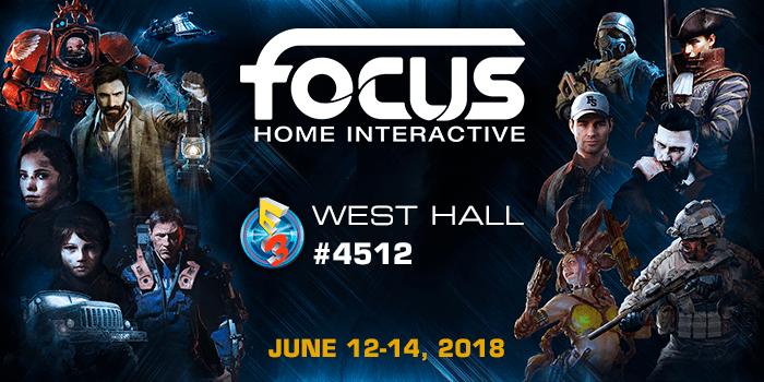 Focus Home Interactive presenta su Line-up para el E3 2018