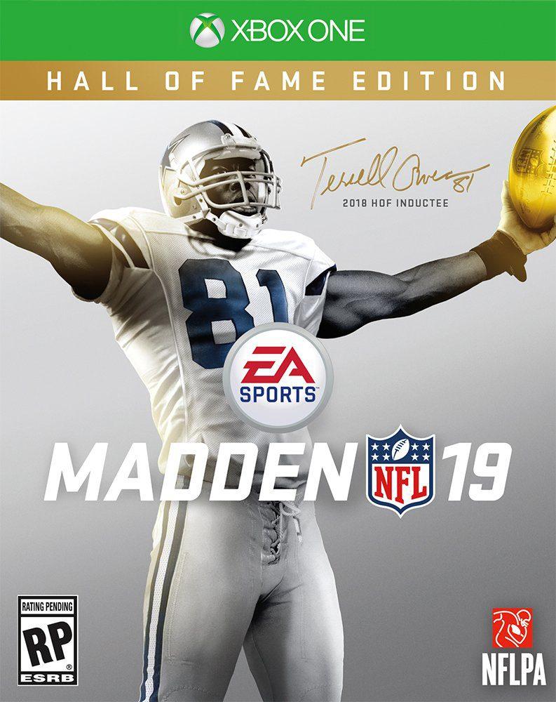 EA Sports anuncia el nuevo Madden NFL 19 para agosto - EA Sports acaba de oficializar Madden NFL 19, el nuevo juego de fútbol americano, se lanzará el próximo agosto, contará con una edición  Hall of the Fame protagonizada por Terrell Owens.