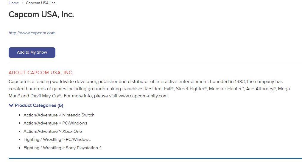 Capcom anunciará un juego de acción y aventura para Xbox en el E3 2018 1