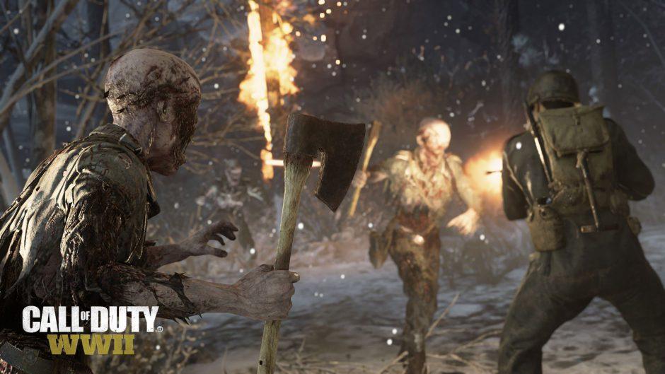 El evento Attack of the Undead lleva a los zombies a los mapas multijugador de Call of Duty WWII