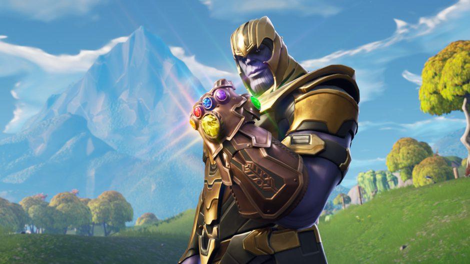 Al verdadero Thanos no le gusta la fiestera versión de Thanos en Fortnite