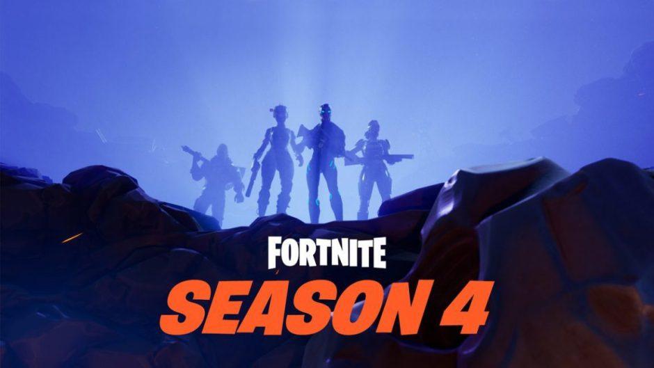 La cuarta temporada de Fortnite añade misiones, skins y mucho más