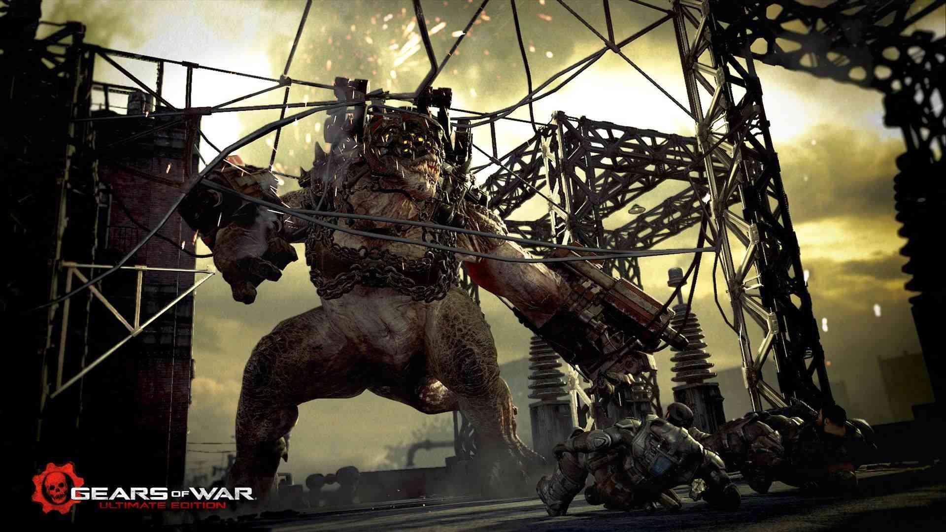 Rod Fergusson de The Coalition, bromea con la idea de llevar el Brumak a Monster Hunter World - El máximo responsable de The Coalition, ha bromeado con la posibilidad de llevar un Brumak a Monster Hunter World. Asegura que si estuviera armado sería genial.