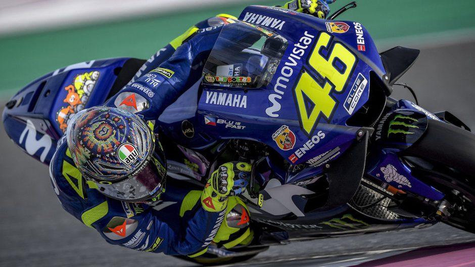 Valentino Rossi protagonista del primer gameplay de MotoGP 18