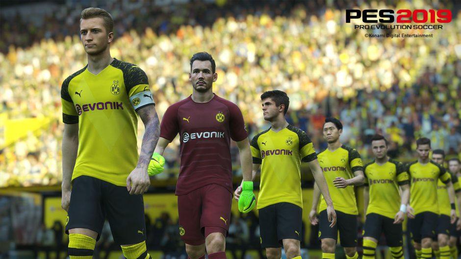 Konami anuncia el final anticipado de su acuerdo para PES con el Borussia Dortmund