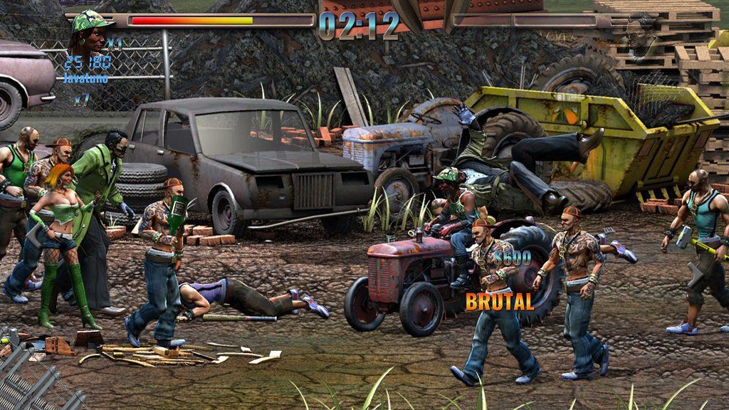 Análisis de Raging Justice - Analizamos Raging Justice, un beat 'em up de acción frenética que nos lleva directamente a los clásicos de la década de los '90.