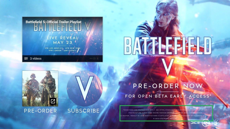Battlefield V será un representante de la experiencia Xbox One 1