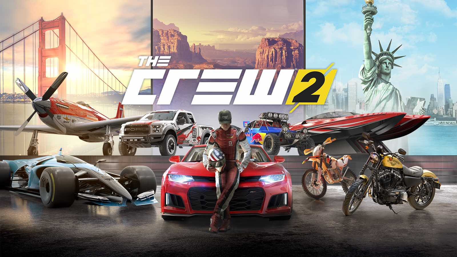 face your ride ubisoft y red bull unidos por the crew 2. Black Bedroom Furniture Sets. Home Design Ideas