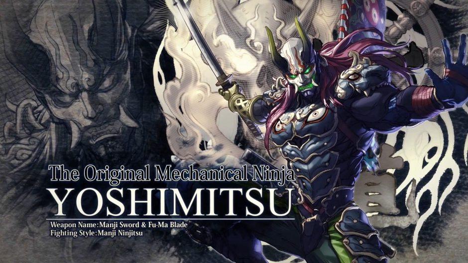 La katana de Yoshimitsu también dará guerra en Soul Calibur VI