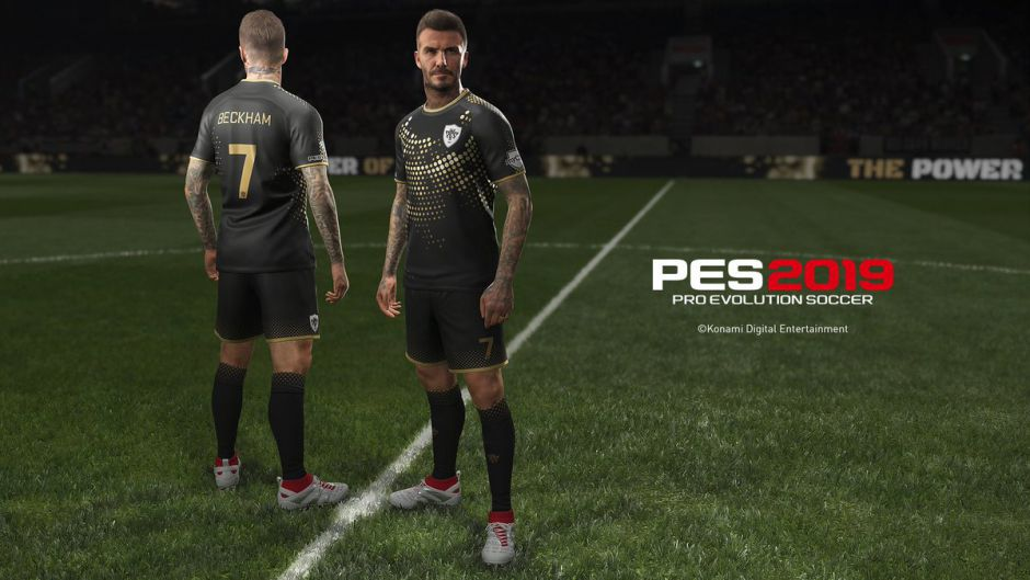Nuevo tráiler de PES 2019 dedicado a David Beckham