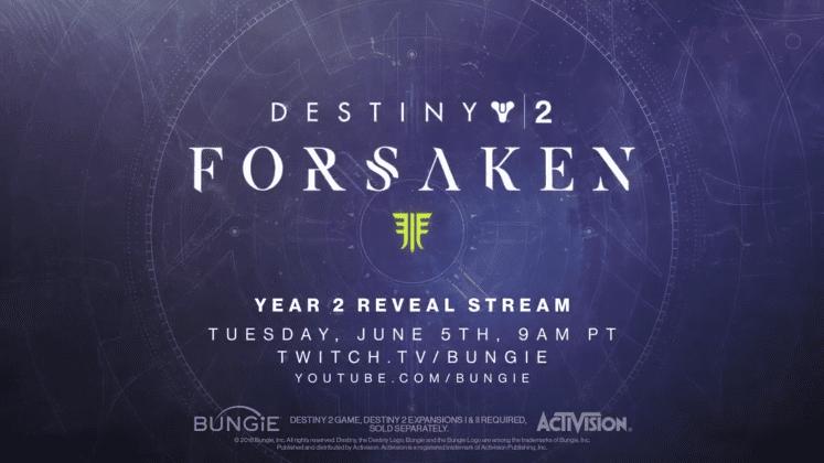 Destiny 2: Forsaken, así se llamará la próxima gran expansión del título de Bungie