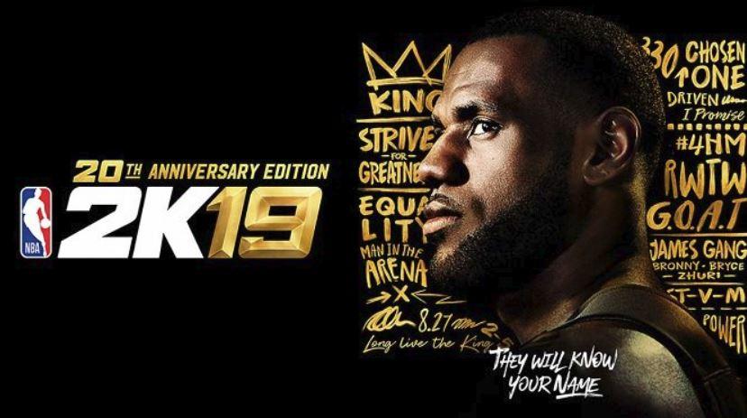 NBA 2K19 confirma fecha de lanzamiento, portada y primer trailer