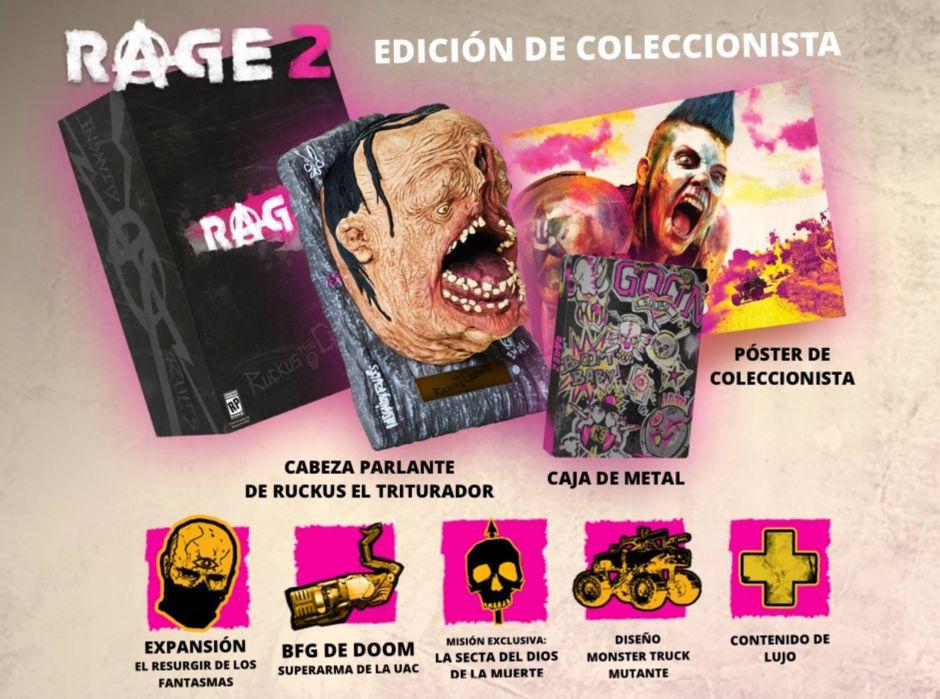 [E3 2018] Presentada la edición de coleccionista de RAGE 2