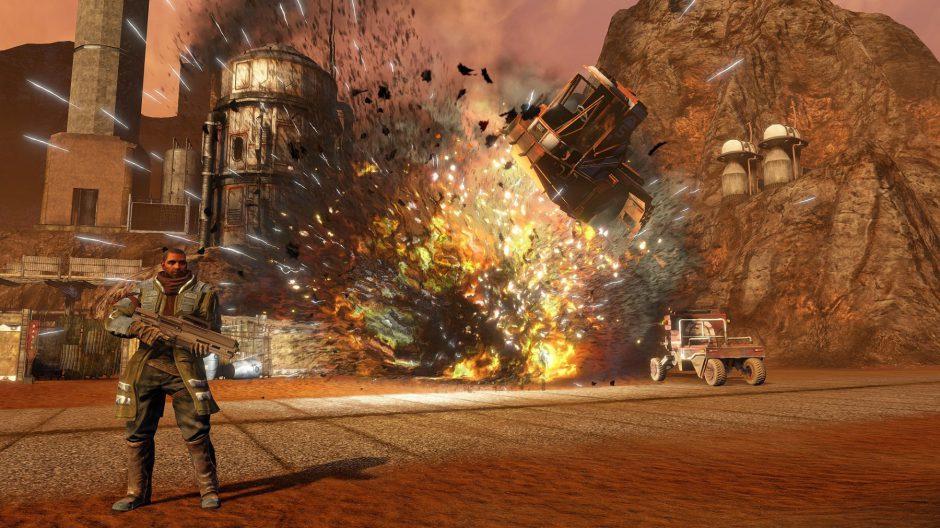 Fecha de lanzamiento y características técnicas de Red Faction Guerrilla Re-Mars-tered