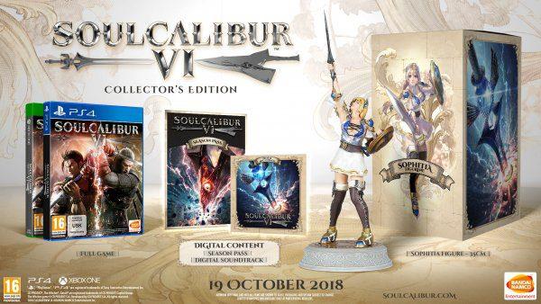 [E3 2018] Soul Calibur VI ya tiene fecha de lanzamiento y recibirá una edición coleccionista