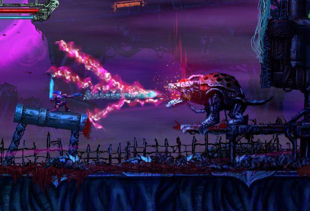 Los creadores de Slain: Back from Hell nos presentan su nuevo título: Valfaris - El nuevo proyecto de los creadores de Slain: Back from Hell se llama Valfaris y contiene todo lo que nos gustó del anterior: su estética y Heavy Metal por un tubo.