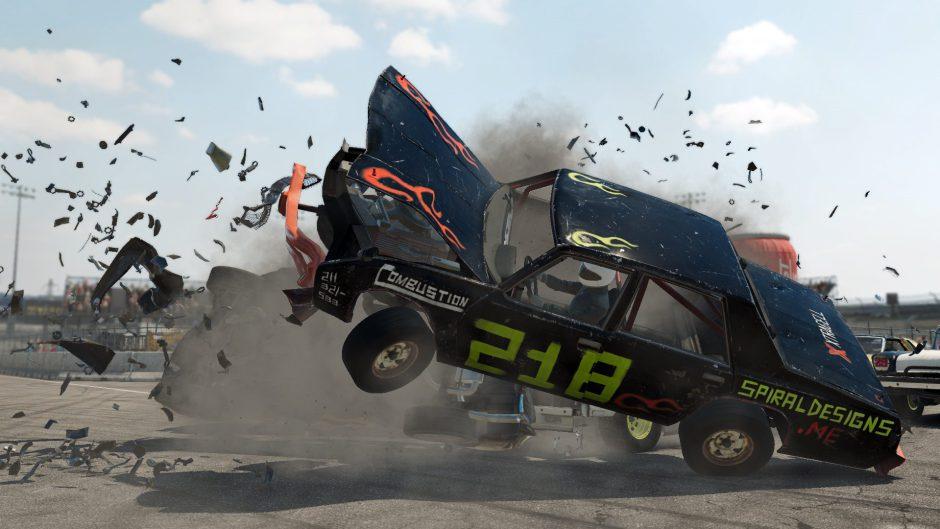 Noviembre es el mes elegido para los choques épicos de Wreckfest en Xbox One