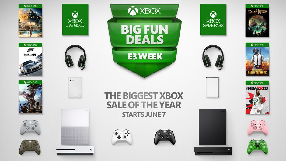 Microsoft celebra con rebajas de infarto la semana previa al E3