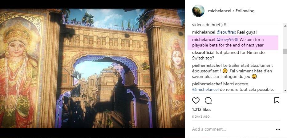 Michel Ancel espera poder publicar una beta de Beyond Good & Evil 2 en 2019 - El creador de Beyond Good & Evil reconoce que el objetivo del equipo de desarrollo es publicar una beta de su secuela en 2019.