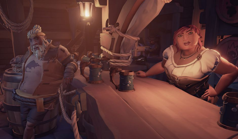 Rare se lleva al actor Freddie Prince Jr a la Comic Con para hablar de Sea of Thieves