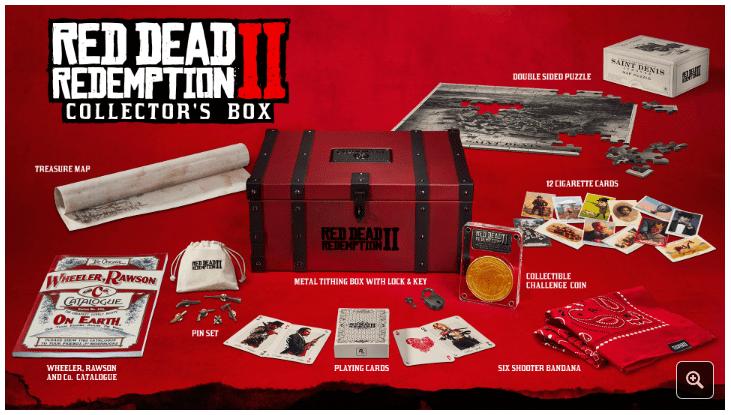 Rockstar muestra las ediciones de Red Dead Redemption 2 y ya puedes reservarlas en Xbox One