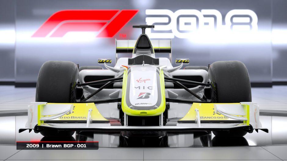 F1 2018: Confirmados los míticos Brawn GP y el Williams FW25