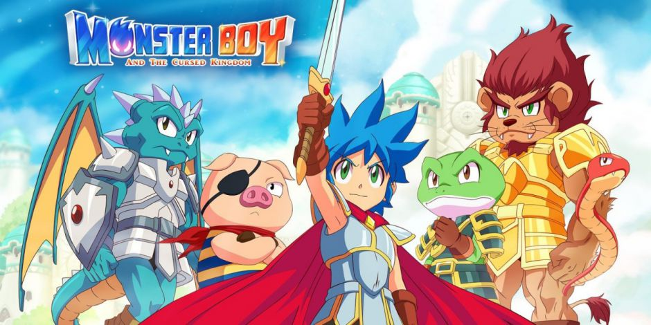Monster Boy and the Cursed Kingdom estrena demo para PC