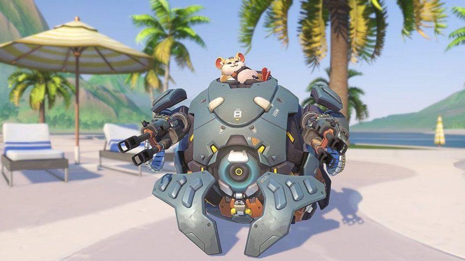 Nuevo héroe en Overwatch: Wrecking Ball ya está disponible en la RPP