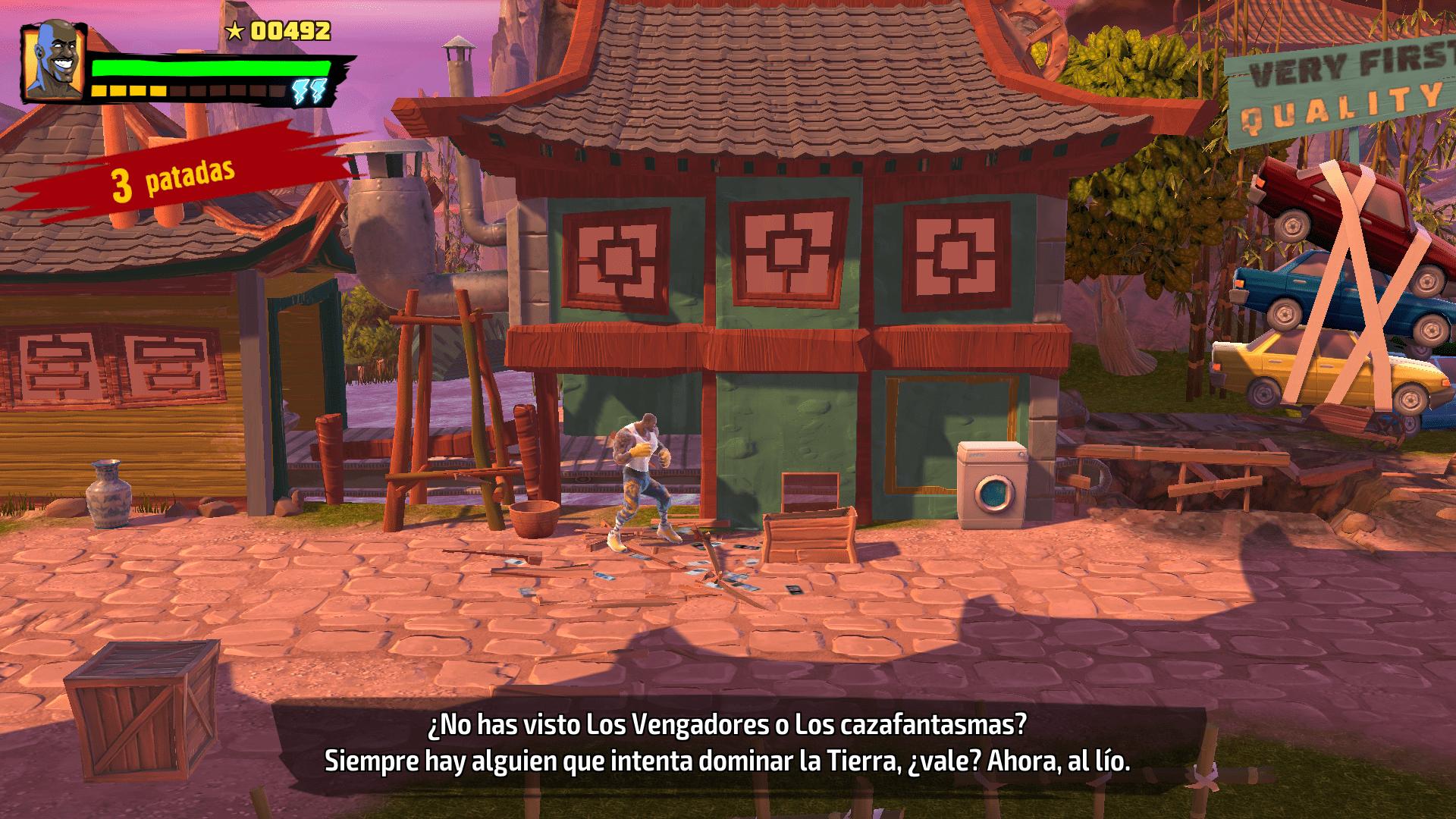 Análisis de Shaq Fu: A Legend Reborn - Analisis de Shaq Fu: A Legend Reborn para Xbox One. Descubre el juego de lucha protagonizado por la estrella de la NBA, Shaquille O'Neal.