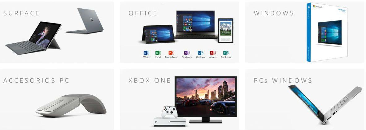 Amazon España estrena un portal de ofertas sobre los productos de Microsoft 1