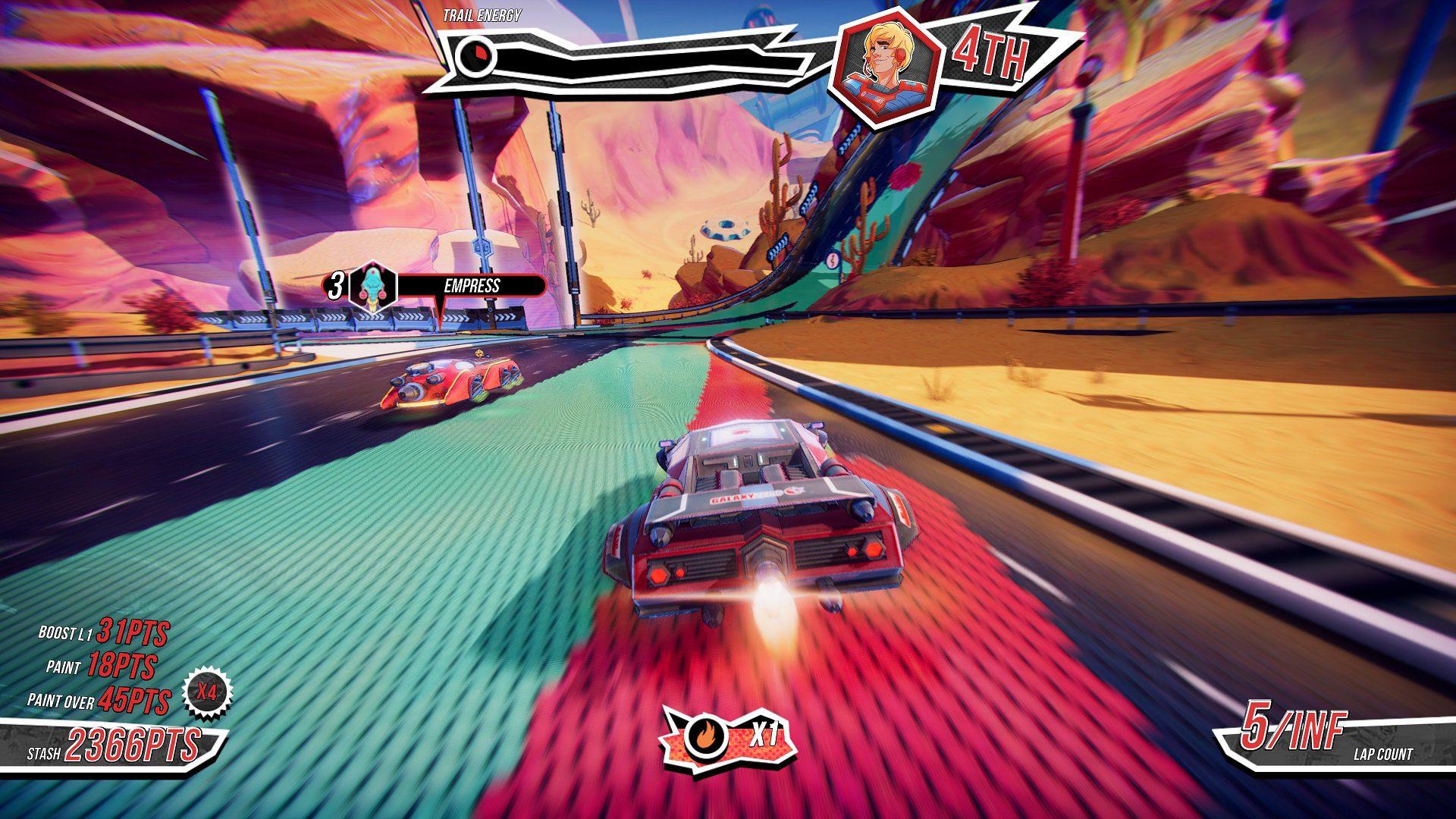 Análisis de Trailblazers - Trailblazers es un juego que nos ofrece carreras alocadas en cooperativo donde la acción la velocidad se funden para crear una experiencia única en Xbox One.