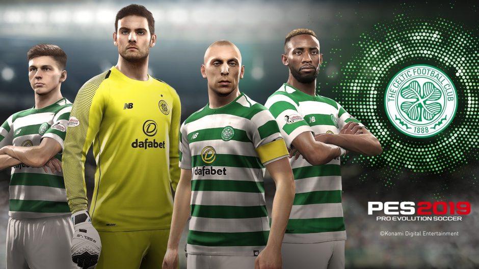 El Celtic Football Club se une a la plantilla de clubes de PES 2019