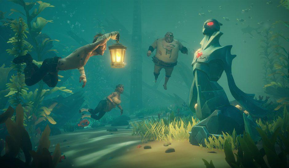 Rare reformará el sistema de misiones de Sea of Thieves y añadirá narrativa