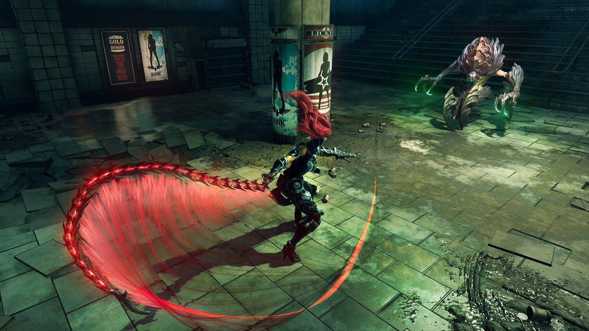 Primer gameplay de Darksiders 3 de Furia contra un jefe