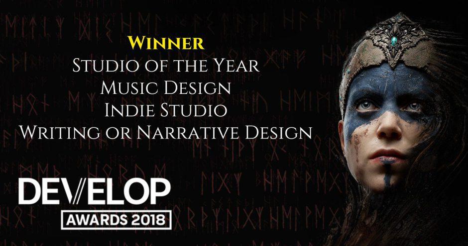 Ninja Theory gana 4 premios en los Develop Awards 2018 por Hellblade
