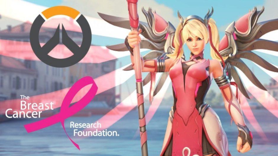 Blizzard dona los 12,7 millones de dólares recaudados por Overwatch a la investigación del cáncer de mama