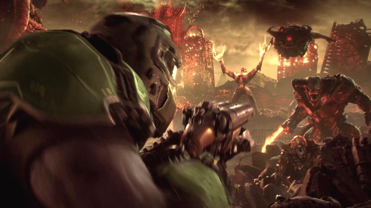 Estos son los primeros gameplay de DOOM Eternal ¡Bestiales!