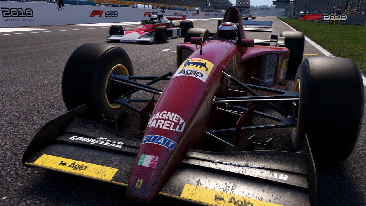 F1 2018 - Ferrari histórico