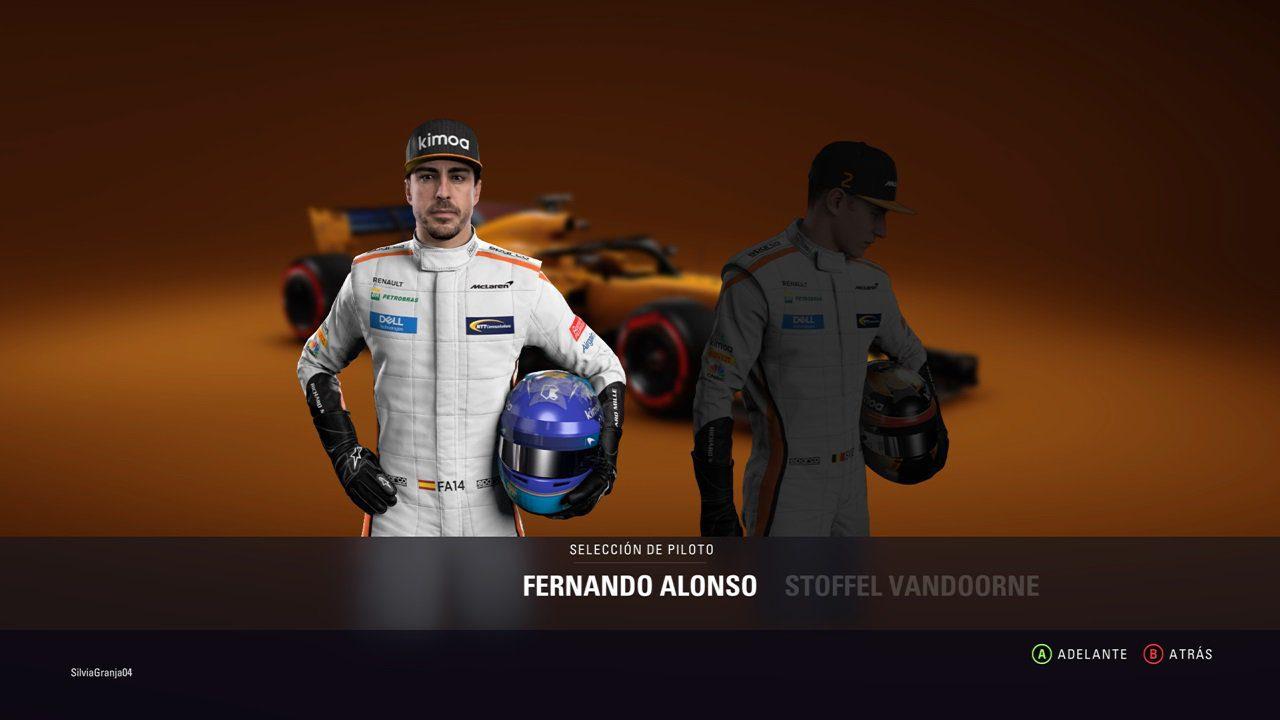 F1 2018 - Fernando Alonso
