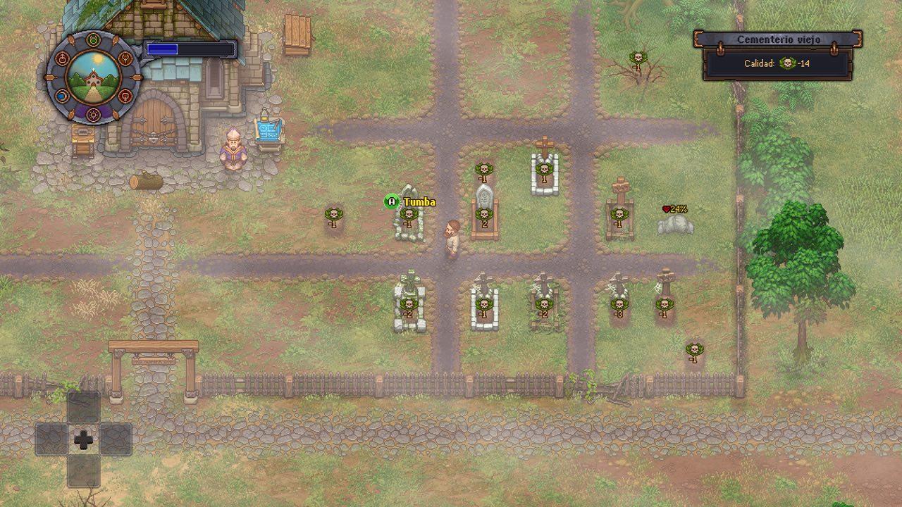 Análisis de Graveyard Keeper